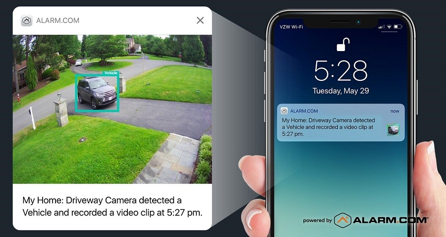 Home Security Just Got Smarter with Video Analytics from Alarm.com